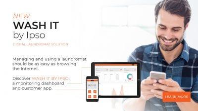 IPSO Wash it Digital dashboard