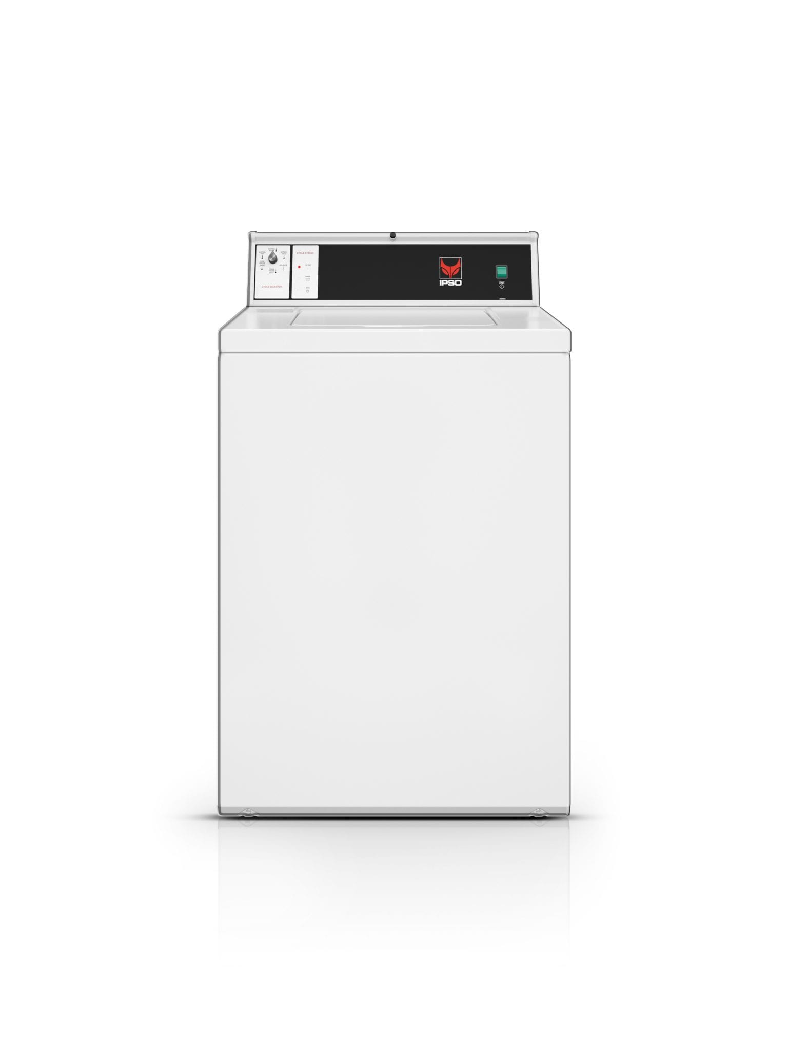 IPSO semi-commercial or commercial top load washing machine
